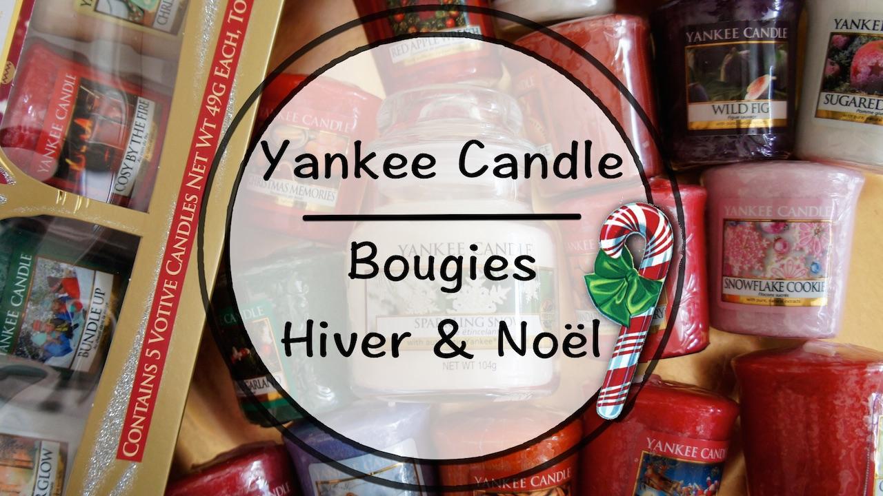 Vid o yankee candle bougies d 39 hiver et de no l - Yankee candle calendrier de l avent ...
