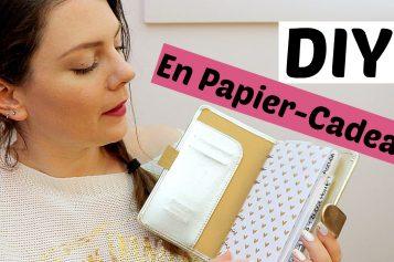 DIY Agenda – Faire des intercalaires en papier cadeau | Personnaliser son agenda