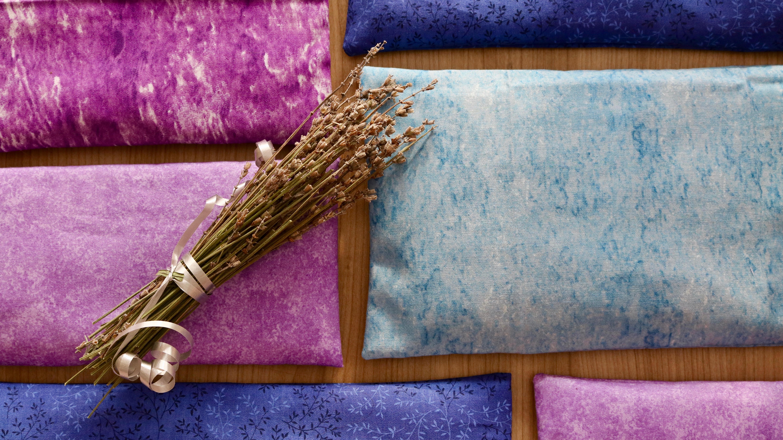 diy coussin anti bobo aux graines de lin et plantes. Black Bedroom Furniture Sets. Home Design Ideas