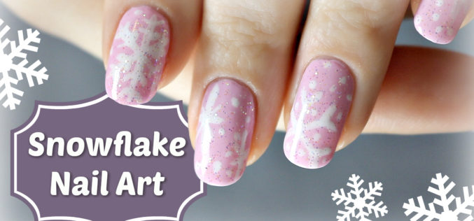 NAIL ART – Snowflake Cookie Nail Art – Flocons de neige sur mes ongles #mynails4charity