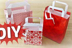 DIY – Comment faire un sac en papier cadeau | tuto IKEA de Noël pliage pour faire un sachet cadeau