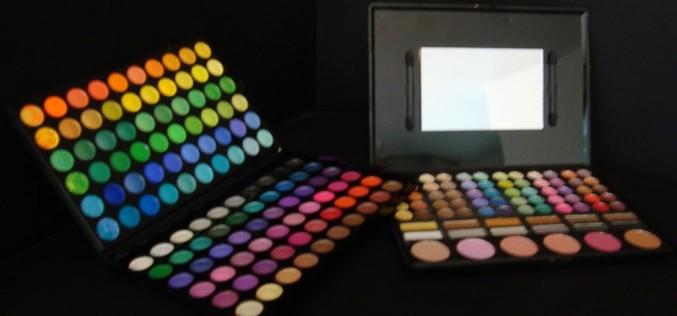 Maquillage – Palettes à faible coût