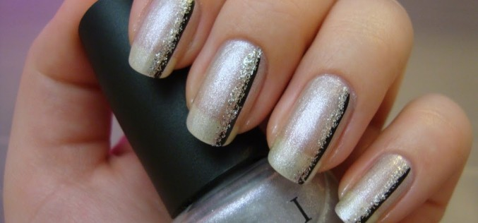 OPI Stars in my eyes et un peu de nail art