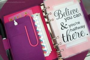 Believe-Filofax