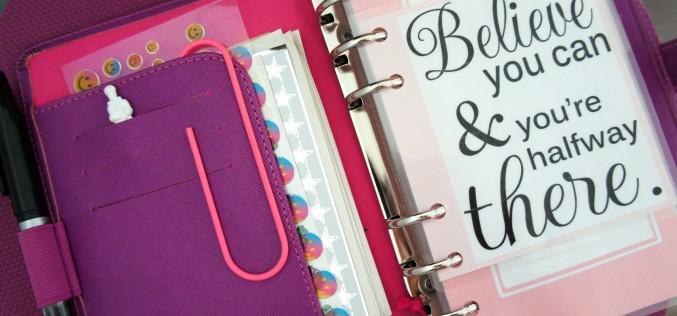 Agenda personnalisé – Comment j'ai customisé mon Filofax