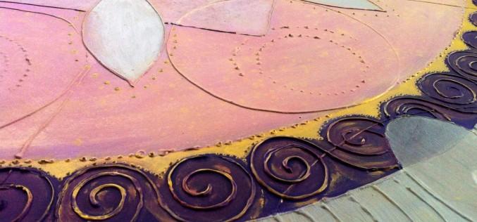 Peinture – Comment j'ai fait mon premier Mandala Intuitif