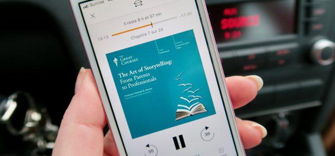 Audible, comment les livres audio ont changé mon quotidien