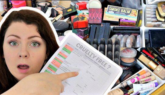 Je trie ma collection de maquillage | testé ou non testé sur les animaux