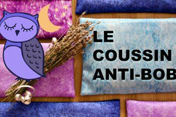 DIY – Coussin Anti-bobo aux graines de lin et plantes bienfaisantes