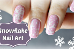 NAIL ART – Snowflake Cookie Nail Art – Flocons de neige sur mes ongles #mynails4charity