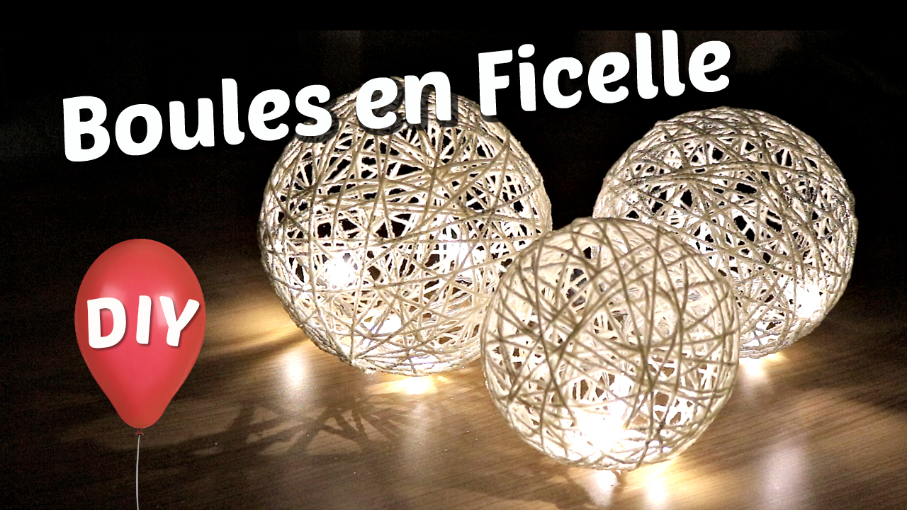 boules en ficelle lot de petites boules mtal lampe boule en ficelle annes u laissez scher et. Black Bedroom Furniture Sets. Home Design Ideas