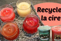 DIY RECYCLAGE – Comment je recycle mes bougies votives Yankee Candle