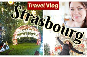 Vlog Marché de Noël et vie de Château – Week end pour le marché de Noël de Strasbourg