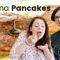 Les Banana Pancakes de Zaëlle | Recette facile des Pancakes à la Banane et à l'Avoine