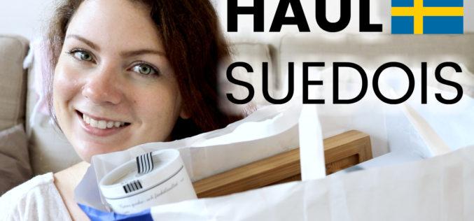 HAUL – Déco et Cuisine ! Je vous montre tout ce que j'ai ramené de Suède