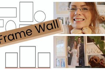 DIY VLOG – Comment j'ai créé mon Frame Wall   Galerie photo murale ou mur de cadres