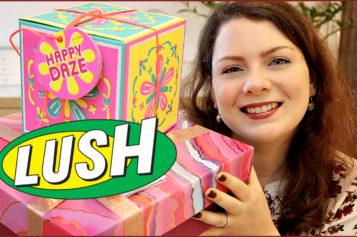 Unboxing – J'ouvre mes cadeaux LUSH, Happy Daze et Relax More