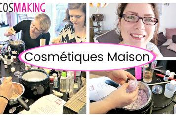 VLOG – Faire ses cosmétiques maison | Atelier Cosmaking avec Lexie