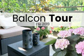 BALCON TOUR – Plantes, déco et aménagements du balcon | Eté 2019