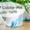 Customiser ses Pots de fleurs avec du Vernis à ongles en Marbrures | Water Marble Art