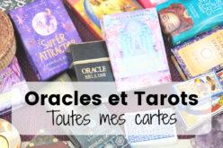 Ma collection de Cartes, Oracles et Tarots – Développement personnel, spiritualité et divination