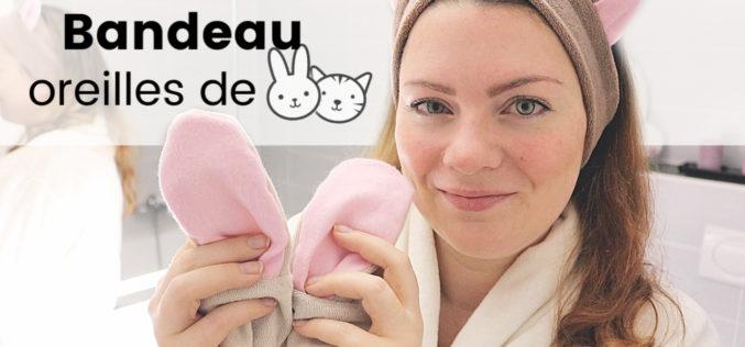 DIY – Bandeau oreilles de Chat, Lapin ou Ourson pour vos cheveux