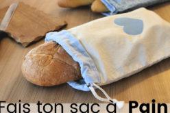 DIY – Coudre un Sac à Pain avec fermeture à cordons | Tutoriel couture facile