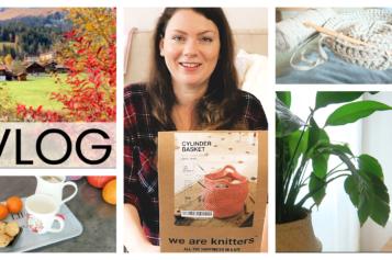 VLOG – Crochet, déco, moments cosy et marrons chauds