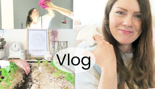 VLOG – Ménage de printemps, produits durables et décoration printanière