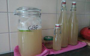 Bouteilles de Ginger Beer